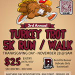 3rd Annual Turkey Trot 5K Run / Walk